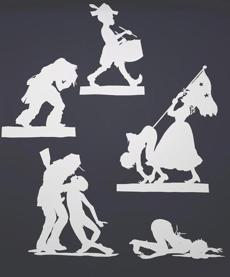 """Wall Sampler 1"" by Kara Walker."